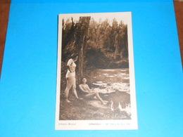 """17 ) Gémozac - N° 25 - Etang De Bois Joli """" Baigneusses""""  : Année  : EDIT : Cartier - France"""