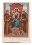 Madonna Della Salute, Notre-Dame Du Salut, Mater Salutis, Vierge à L'Enfant, éditeur Non Mentionné - Devotion Images