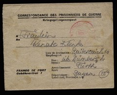 A5908) POW Kriegsgefangenenbrief V. Frankreich 21.10.46 N. Fürth - Gemeinschaftsausgaben