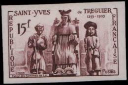 FRANCE Essais  1063 Essai En Brun: Saint Yves, Justice - Essais