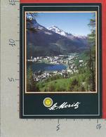 CARTOLINA VG SVIZZERA - ST. MORITZ Mit Piz Corvatsch - 10 X 15 - ANN. 2002 - GR Grisons