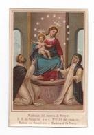 Madonna Del Rosario Di Pompei, Notre-Dame Du Rosaire, Rozenkranz, Rosary, Sainte Catherine De Sienne Et Saint Dominique - Devotion Images
