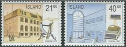 Cept 1990 Islande Iceland IJsland Yvertn° 635-36 *** MNH Cote 7,50 Euro - 1944-... Republique