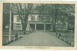 Veenhuizen 1924; Vereenigingsgebouw - Gelopen. (J. Akse - Veenhuizen) - Veenhuizen