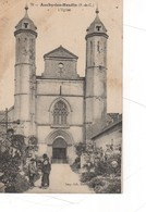 Auchy Les Hesdin L'église ( Cimetière - Other Municipalities