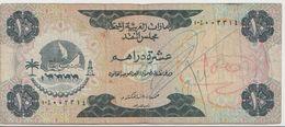 U.A.E. P.  3a 10 D 1973 F - Emirats Arabes Unis