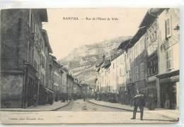 CPA 01 AIN Nantua Rue De L'Hotel De Ville - Nantua