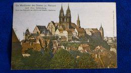 Die Westtürme Des Domes Zu Meissen Germany - Meissen