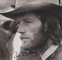 PETER FONDA  AUTOGRAPHE / AUTOGRAMM  Photo 18,5/18,5 Cm - Autographs