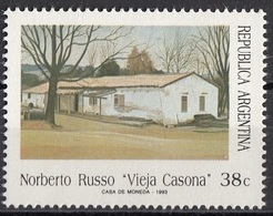 1798 Argentina 1993 Quadro Dipinto Da Norberto Russo Nuovo MNH Paintings - Moderni