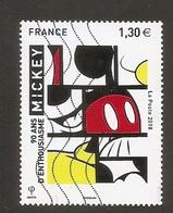 "Mickey ""90 Ans D'enthousiasme"" (Dessin Animé / Cinéma) - France - 2018 - Oblitérés"