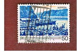 GIAPPONE  (JAPAN) - SG 1556   -   1980  JAPANESE SONGS: WINTER SCENE       - USED° - 1926-89 Imperatore Hirohito (Periodo Showa)