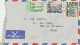 LEBANON 1962 Cover To USA.BARGAIN.!! - Libanon