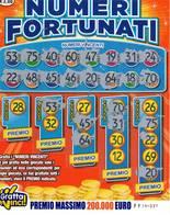 GRATTA E VINCI   - NUMERI FORTUNATI Codice FF NUMERO 55  DA € 3.00 - USATO (SERIE AAMS) - Biglietti Della Lotteria