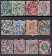 GB 1902 - MiNr: 102A-114A  - 12 Werte  Used - 1902-1951 (Könige)