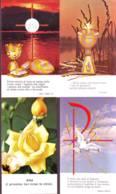 Salmo E Massima + Veduta O Altro, 4 Santini Di Cui 3 Ed. FB + 1 Ed. Cigno (rosa Gialla) - Religion & Esotericism