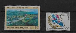 Serie De Grecia Nº Yvert 1767/68 ** - Grecia