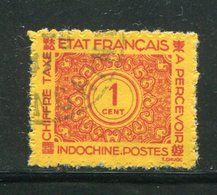 INDOCHINE- Taxe Y&T N°75- Oblitéré - Timbres-taxe