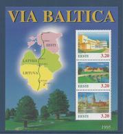 Estonie Bloc - Neuf Sans Charnière - 1995 - Estonia