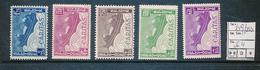 BELGIQUE COB 249/253 MNH - Unused Stamps