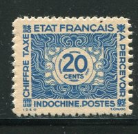 INDOCHINE- Taxe Y&T N°82- Oblitéré - Timbres-taxe