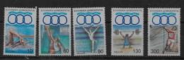 Serie De Grecia Nº Yvert 1769/73 ** DEPORTES (SPORTS) - Grecia