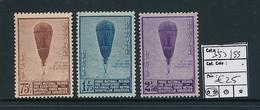 BELGIQUE COB 353/355 MNH - Unused Stamps