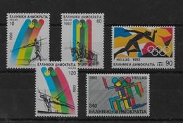 Serie De Grecia Nº Yvert 1779/83 ** DEPORTES (SPORTS) - Grecia
