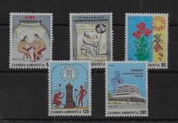 Serie De Grecia Nº Yvert 1788/92 ** - Grecia