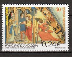 Spaans-Andorra Mi 284 Christmas 2001 Postfris M.n.h. - Spaans-Andorra