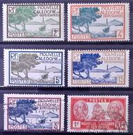 NOUVELLE-CALEDONIE - N°140-141-142-144-154A-180 - Neuf SANS Charnière ** / MNH Et Oblitéré (o) - New Caledonia