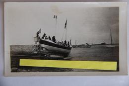 Finistére Ile De Sein Canot De Sauvetage  Photo 11x7   Baptême De Bateaux 24 Juin 1930 - Autres Communes