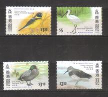 9350- Hong Kong, British Colonies, Complete Set  Michel 811-4 Year 1997 - ** MNH Topic Birds, Fauna - Hong Kong (...-1997)