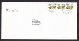 Ghana: Airmail Cover To Netherlands, 1993, 3 Stamps, Castle, Heritage, Cancel Airport (traces Of Use) - Ghana (1957-...)