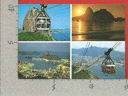 CARTOLINA VG BRASILE - RIO DE JANEIRO - Pao De Acucar - 10 X 15 - ANN. 1997 MECCANICA ROSSA - Rio De Janeiro