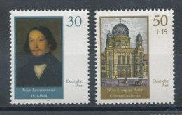 2961 Et 2962** Nouvelle Synagogue De Berlin - [6] République Démocratique