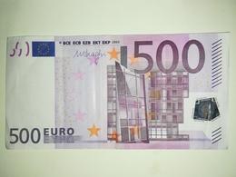 EURO- AUSTRIA 500 EURO (N) F007 SIGN DRAGHI - EURO