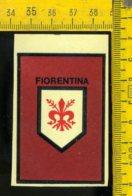 Figurina Adesiva Originale D' Epoca Calcio Fiorentina - Adesivi