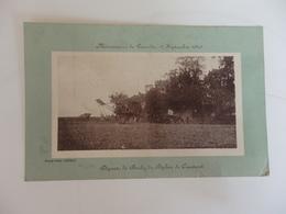 Cpa Manoeuvres De Picardie Départ De Buchy Du Biplan De Caumont. Au Dos 11ème Territoriale 1914. - Manoeuvres