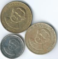 Jamaica - Elizabeth II - 1 Dollar - 1991 (KM145) 1993 (KM145a) & 2008 (KM189) - Jamaique