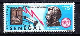 Senegal  -  1976. Bell E Storico Telefono. Historical Telephone. MNH - Telecom