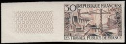 FRANCE Essais  1114 Essai En Bicolore, Bdf: Travaux Publics, Pont Barrage - Proofs