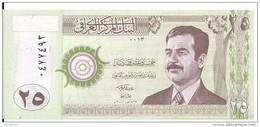 IRAK 25 DINARS 2001 UNC P 86 - Irak