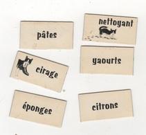 LOT DE 32 MINI MAGNETS PUBLICITAIRES CHAT FELIX - LISTE DE COURSES - Magnets