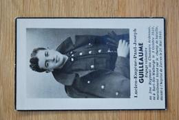 1548/ Lucien GUILLEAUME-2° Rgt CHASSEURS ARDENNAIS Dcd ZARREN 26 Mai 1940 - Obituary Notices