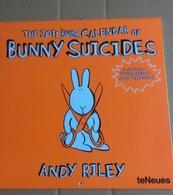 Le Calendrier  Bunny Suicides, 2011(30x30 Cm) - Calendriers