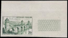 FRANCE Essais  1119 Essai En Vert, Cdf: Pont Valentré, Cahor - Ensayos