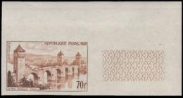 FRANCE Essais  1119 Essai En Lilas, Cdf: Pont Valentré, Cahor - Ensayos