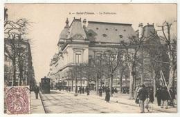 42 - SAINT-ETIENNE - La Préfecture - CR 4 - 1908 - Tramway - Saint Etienne