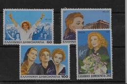 Serie De Grecia Nº Yvert 1860/63 ** - Grecia
